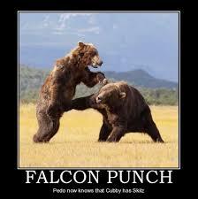 Falcon Punch Meme - falcon punch nut shot by earthrocker48 on deviantart