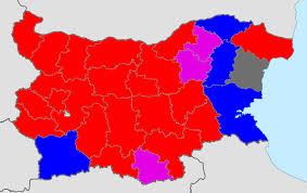 Election 2016 Map by Bulgarian Elections 2016 Provisional Results After 95 2 Of