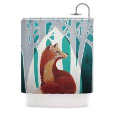 Kess Shower Curtains Lydia Martin