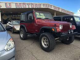 jeep wrangler el paso jeep used cars financing for sale el paso 4 u motors