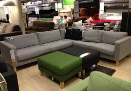 Leather Sofa Bed Ikea Furniture Comfortable Large Sofas Design Ideas With Karlstad Sofa