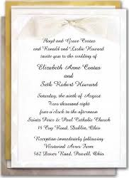 christian wedding invitation wording christian wedding invitation ivory rectangle potrait black classic
