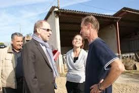 chambre d agriculture 63 visite préfectorale le préfet du puy de dôme en visite sur une