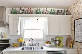 above kitchen cabinet storage ideas 15 creative storage ideas to give your kitchen an organizational boost