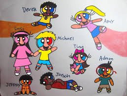 the backyard gang in ppg version by leahfalcon on deviantart