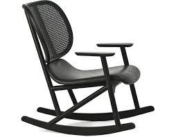 Cane Rocking Chair Klara Rocking Chair With Cane Back Hivemodern Com