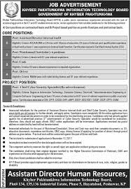information and technology board jobs 2017 in peshawar for