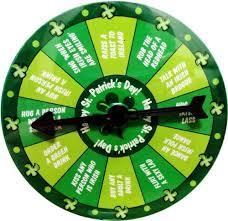 Funny Wearable St Patrick U0027s Day Spin Dare Game Pin