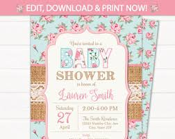 girl baby shower girl baby shower etsy
