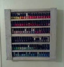 diy nail polishes storage rack tips decoration trend