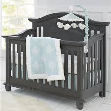 Grey Convertible Cribs Review For Oxford Baby 4 In 1 Convertible Crib