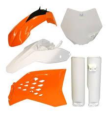 acerbis full plastic kit ktm 85 sx 2003 2011 105 sx 2004 2011