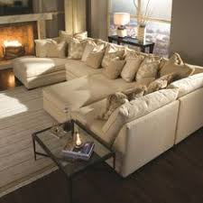 U Shaped Sofa Sectional by Minimalist Living Room Interior Design With White Wall Paint Color