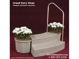 portable baptismal pools grand entry steps church baptistry baptistery heaters