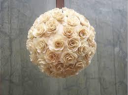 Flowers For Weddings Pomanders Kissing Balls Flowers Balls Made Of Birch Wood Flowers