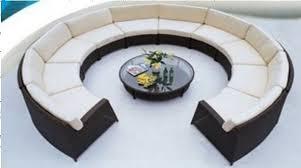 sofa perfect round sofa design round lounge couch round sofa
