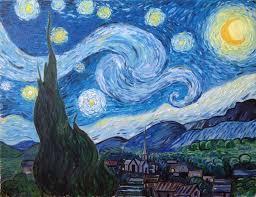 saatchi art artist marjan ugljevarevic painting vincent van gogh starry night