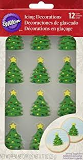 mini ornaments sugar decorations cookie