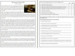 halloween reading comprehension worksheets super bundle by