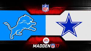 Dallas Cowboys American Flag Monday Night Madden Nfl Detroit Lions Vs Dallas Cowboys Monday