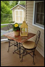 my front porch and a bistro set makeover on tuesday u0027s treasures