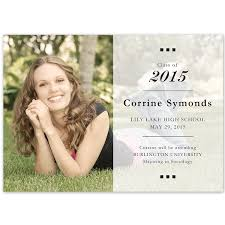 lake graduation announcements cards high school yearbook