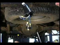 trailer brake controller installation 2000 chevy silverado part