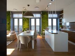 contemporary apartment vertical gardening creates an oasis inside contemporary apartment