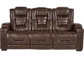 Sofa With Recliners by Eric Church Highway To Home Chief Brown Power Plus Reclining Sofa
