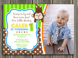 monkey birthday invitations plumegiant com