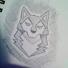 the 25 best simple wolf drawing ideas on pinterest simple wolf