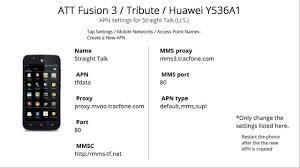 talk apn settings android at t talk apn settings for tribute fusion 3