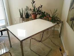 santa clarita ikea torsby glass top dining table 299 home