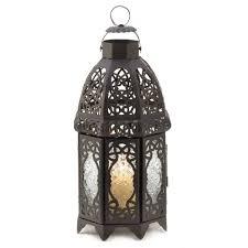 amazon com gifts u0026 decor lattice lantern candle holder home