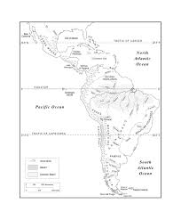 Central America Physical Map by Maps Of The Americas Page 2