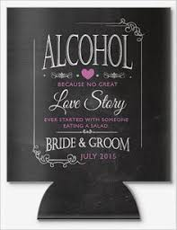 wedding koozie ideas these custom wedding koozies by gracious bridal will keep your