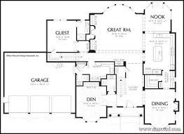 House Plans With Dual Master Suites by Ranch House Plans With Guest House Home Act