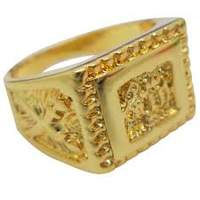 gold ring for men 2015 best gift 18k gold plated men jewelry arab rings gold plated