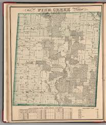 Illinois Township Map by Pine Creek Township Ogle County Illinois David Rumsey