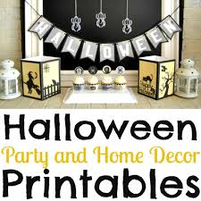 Home Decor Parties Halloween Party And Home Decor Printable Package Simple Made Pretty