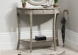 shabby chic deco vintage shabby chic french antique style cream console hallway