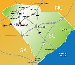 interstate 26 map maps directions visit greenwood sc