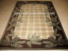 Pine Cone Area Rugs United Weavers Genesis Montage Lodge Color Block Rug Collection