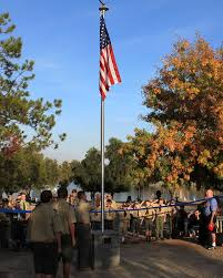 Eagle Scout Flag Eagle Scout Donates New Flagpole To Happy Camp The Friday Flyer