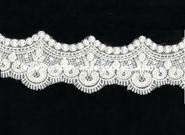 fringe crochet lace trim for sewing scalloped embroidery guipure