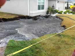Sinkhole In Backyard Sinkhole In Central Florida Is Baaaaaaack Ny Daily News