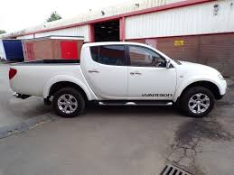 mitsubishi l200 2014 used 2014 mitsubishi l200 di d 4x4 warrior lwb d c 176ps a c for