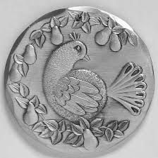 wendell auguste wendell august annual ornament aluminum at