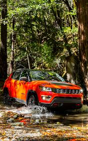 orange jeep compass wallpaper jeep 2017 compass trailhawk red orange auto 1200x1920