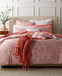 Macy Bedding Comforter Sets Closeout Charter Club Damask Designs Paisley Hibiscus 3 Piece